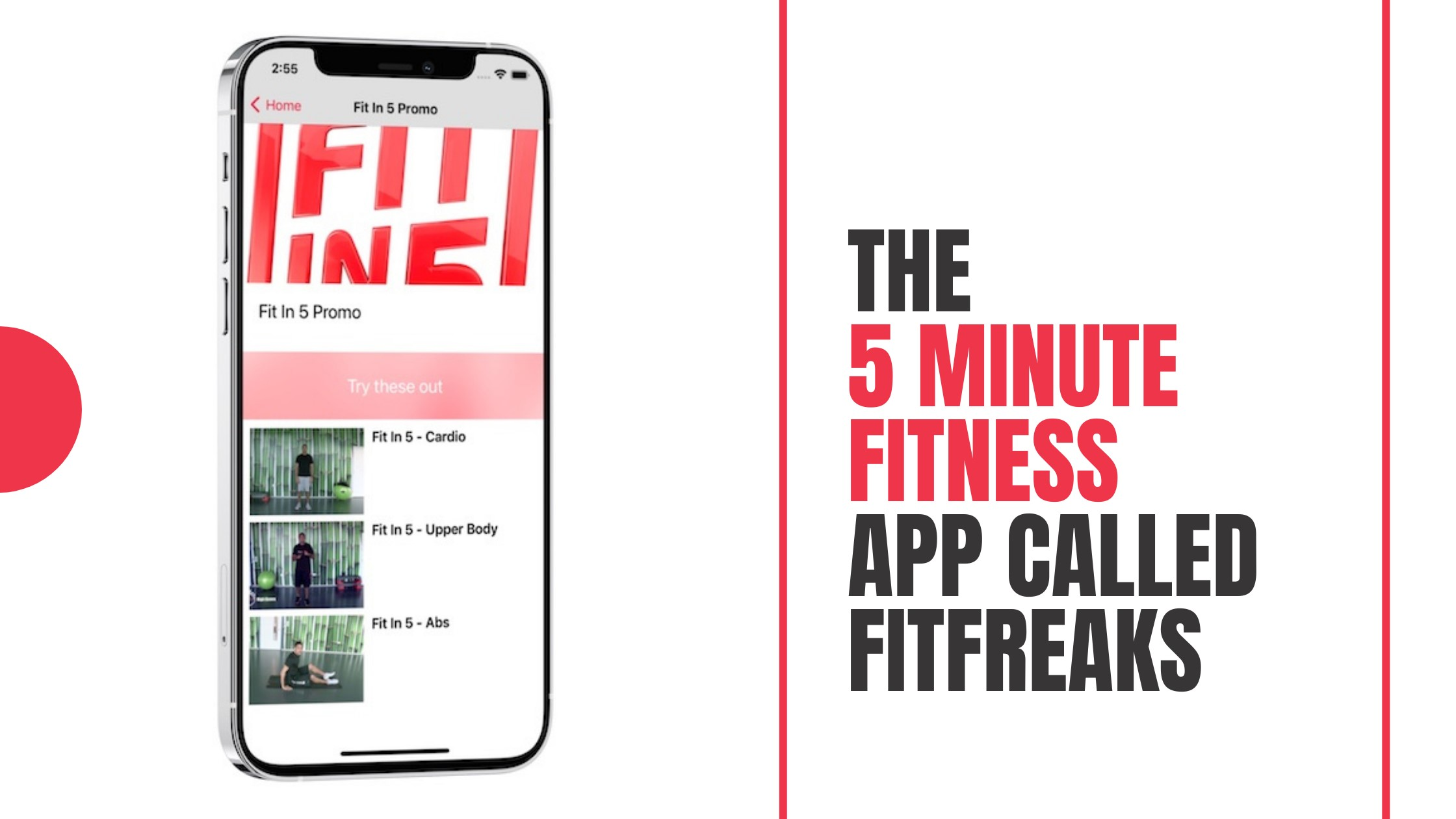 The 5 minute Fitness App Called Fitfreaks